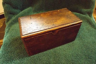 Antique Mystery Box Sewing Accessory 1889 Patent