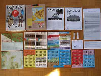 SAMURAI - UNPUNCHED Board Game - Warfare roleplay strategy box rpg set war gmt