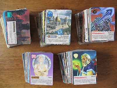 SPELLFIRE 4th FOURTH EDITION over 400 cards - No Chase TSR ccg tcg UR magic 500