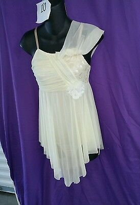 Curtain Call Costume Romance size adult small beige #10