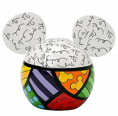 "ENESCO DISNEY Skulptur - by Romero Britto ""Ears - Money Bank - Spardose"" 4025535"