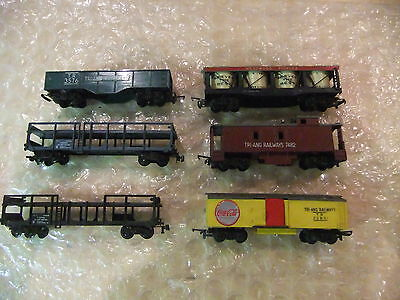 Triang Transcontinental / Playcraft  Job lot of wagons 6 in total vintage 1960's