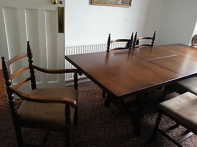 Youngers Dining Table and 6 chairs