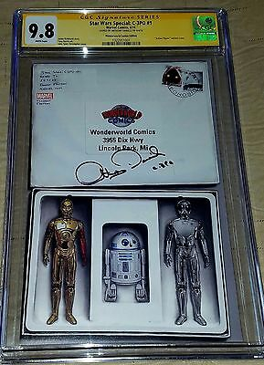 Star Wars C3PO #1 CGC SS 9.8 WW Droid Mail Away Signed by Anthony Daniels *Rare*