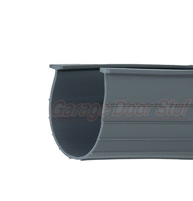 Garage Door Bottom Weather Seal HEAVY DUTY - 16' - NEW - GRAY