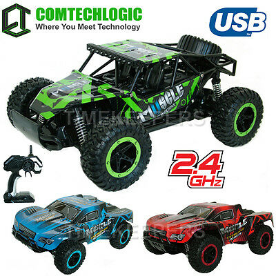 2.4Ghz 1:12 Muscle RC Radio Remote Control USB Rechargeable Off Road Buggy Car