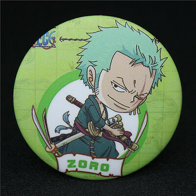 Japanese Anime Character ONE PIECE Zoro Q edition Badge Brooch Chest Pin