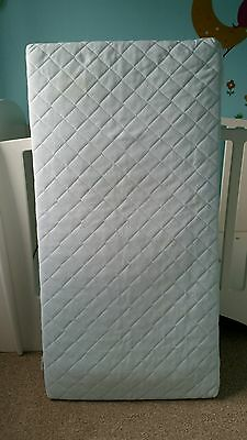 Ikea baby cot spring mattress -washable cover