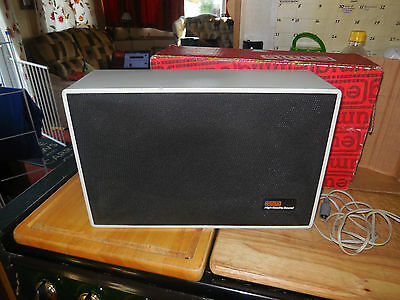 Cine 8mm Eumig speaker 10w in box LOOK REDUCED