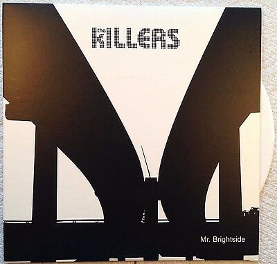 "The Killers Mr Brightside original first issue white vinyl 45 Single 7"" Rare as"