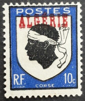 Arms of Corsica 1945 mint Algeria stamp for sale please click & view for details