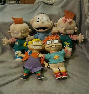 Rugrats Chuckie Tommy Angelina phil and lill Vintage Retro 1997 Applause bargain