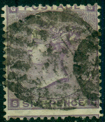 GREAT BRITAIN SG-84, SCOTT # 39 USED, 6p LILAC, GREAT PRICE!