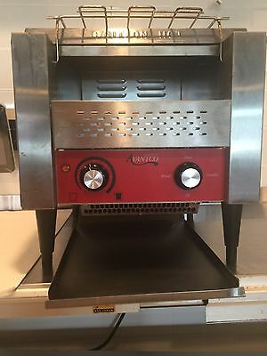 "Commercial Avantco Electric Conveyor Bread Bagel Toaster 3"" Opening Compact 120V"