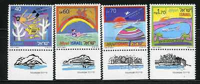 Israel 1989 Tourism Mediterranean Dead Red Galilee Sc. 1010 MNH With tabs(AI_54)