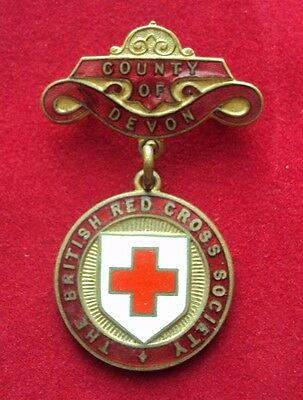 British Red Cross County Badge County of Devon Made by Gaunt