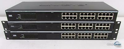 Lot of (3) Cisco Linksys EtherFast EF3124 24-Ports Rack Mountable Switch
