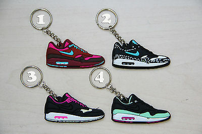 NIKE AIR MAX 1 Keychain All color Mini Sneaker Parra Yeezy Atmos ...