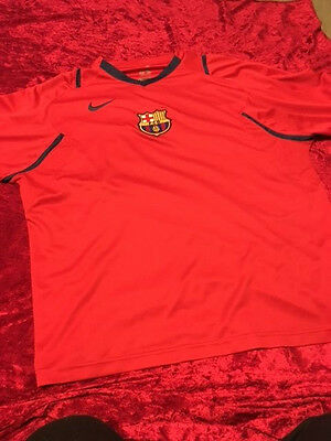 Barcelona football shirt Red - size Large