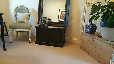 Shabby chic antique  pine blanket box/chest/coffee table/coffer/toy box?trunk