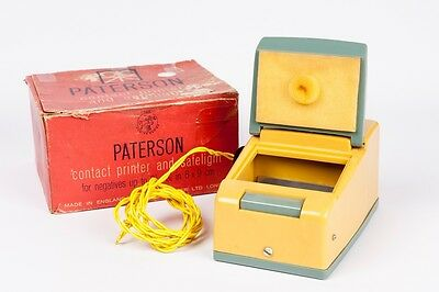 Paterson vintage contact Printer for 6x9cm. / prensa de contactos