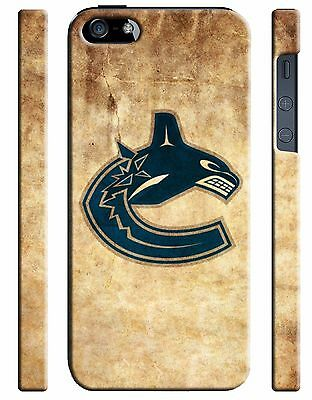 Vancouver Canucks Logo iPhone 4S 5S 5c 6 6S 7 8 X Plus SE Case Cover i5