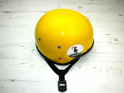 Joe Brown Fiberglass Vintage Climbing Helmet - Made in Wales