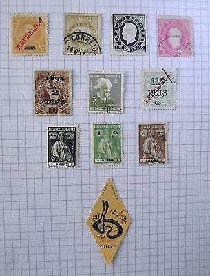 Portugal/Colonies. 11 stamps.