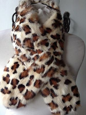 Vintage Spotted Fur Collar Dyed Rabbit ?