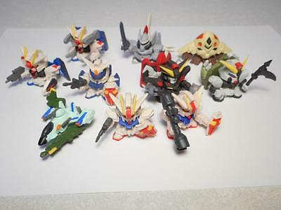 Mobile suit Gundam SEED SD mini figure Toy 10 set from Japan