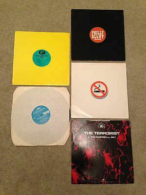 5 X Jungle DnB 1995/7, Mo Smoking/Philly Blunt/Dread/True Playaz/ Grand Larceny