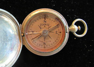 Original WWI US Army ENGINEERS COMPASS marked ENG DEPT USA 1918 + GOOD Condition