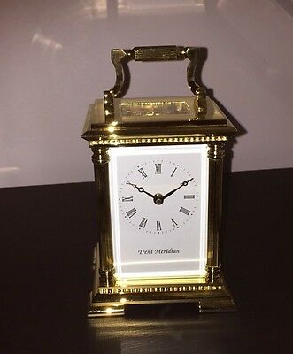 Mechanical Brass Carriage clock TM211