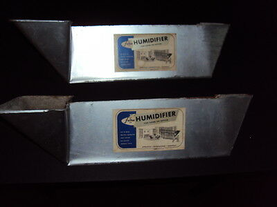 vintage architectural salvage radiator humidifiers set of 2 fulton line clean