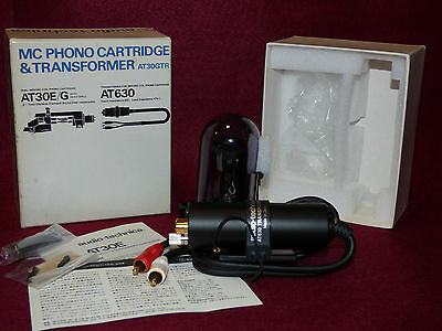 AUDIO-TECHNICA AT30GTR Dual moving Coil Phono Cartridge Y Transformer AT630