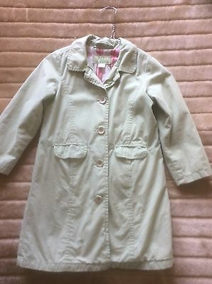 GAP kids jacket/coat light green. AGE 5 Girls.