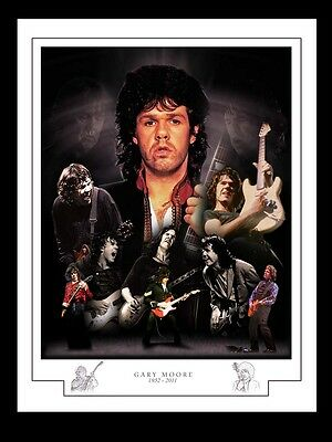 Gary Moore Montage Print