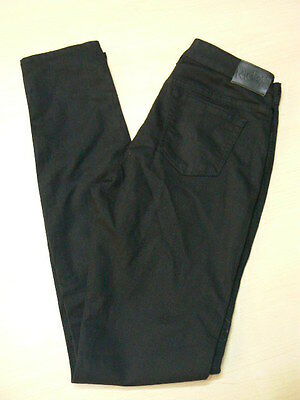 "Size 8 Ladies,super Hot & Stylish ""riders By Lee"" Mid Skinny,black Denim Jeans"
