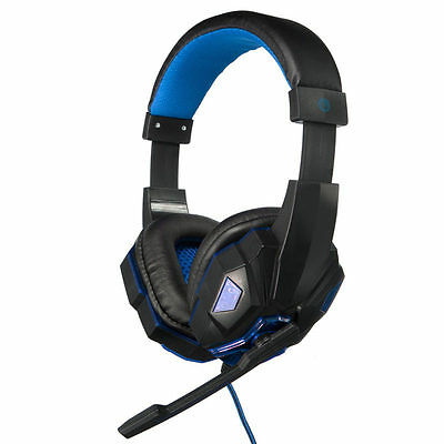 Gaming Auriculares Cascos Usb 3.5mm LED Headset Headphone Micro Cable PC SKYPE