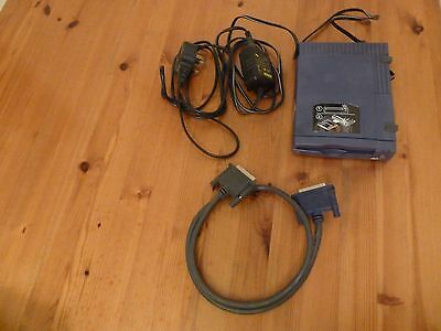 Iomega external zip drive Z100P2 + Mains adaptor and cables