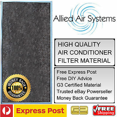 Air Conditioner Filter G3 Superior To G2 Ducted Air Con Material Furnace Heating