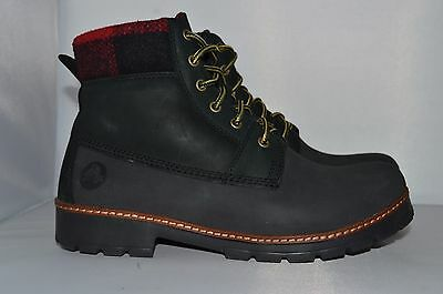 Crocs ankle Boot Men's lace up Leather Chelsea Ankle Dealer Boots New M10 UK 9