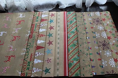 10 Assorted Design  New Assorted Sheets for Christmas,Xmas Gift Wrapping Paper