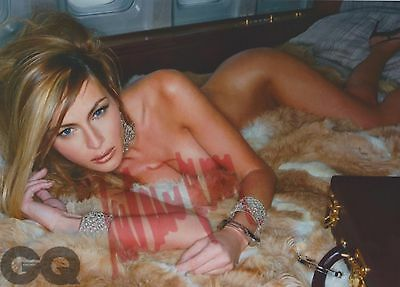 Melania Trump (Full Nude) President Donald Trump EXTREMELY RARE SIGNED RP 8x10!!