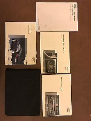 Audi TT Coupe Owners Manuel And Wallet 2007 Model Year