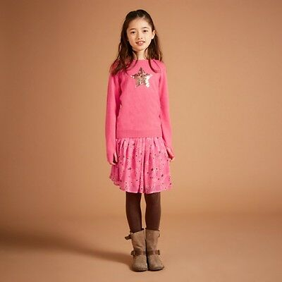 I Love Gorgeous Pink Star Sweetie Skirt - Age 6-7 - RRP £45 - Box6518 S