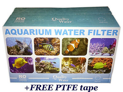 3 Stage Reverse Osmosis Water Filter Ro3 75Gpd For Marine/tropical Fish