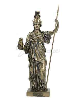 Athena Greek Goddess Of War And Wisdom Figure Statue Sculpture  - New in Box