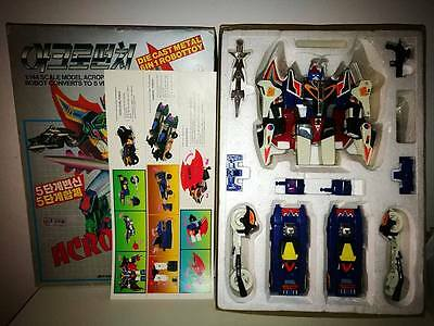 Acropunch Deluxe Robot Made In Korea Acrobunch Dx Vintage Toy