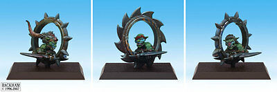 Rare OOP Confrontation Rackham Goblin Mad Wheels / Roues Folles